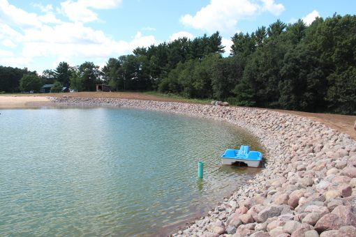 Cobblestone Pond Lined