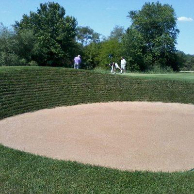 Steep Face Bunker Sand Illinois