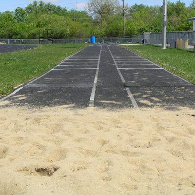 Long Jump Pit Sand