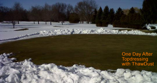 ThawDust Ice Melt Sand