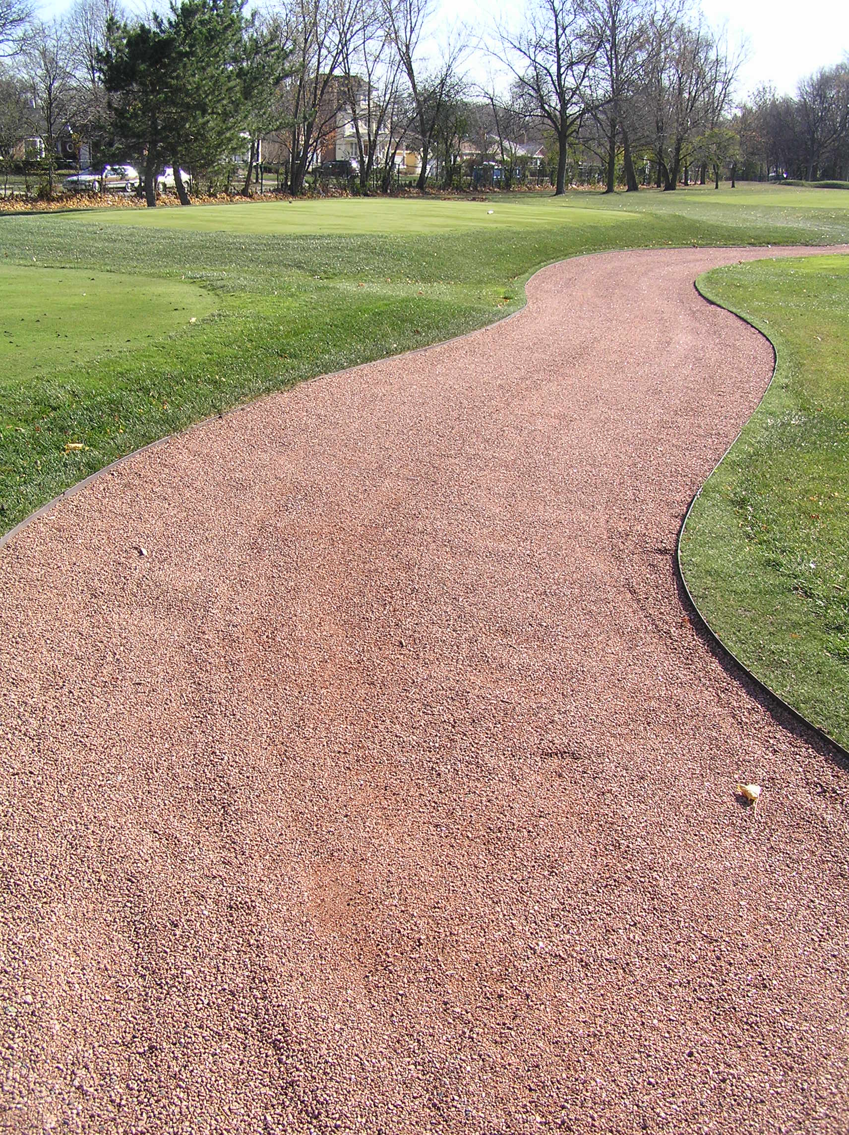 Red Granite Golf Cartpath
