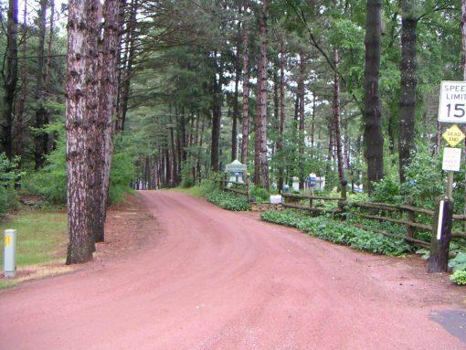 Red Tread Pathway Granite