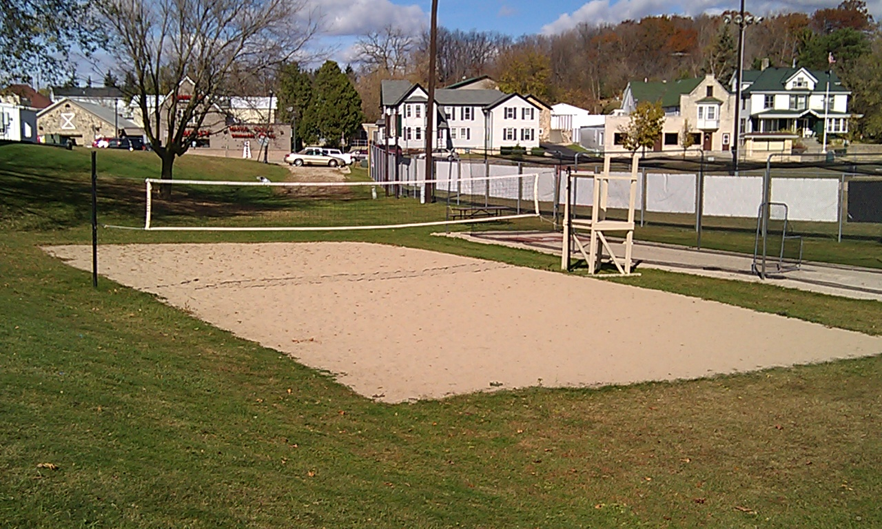 Volleyball Court Sand