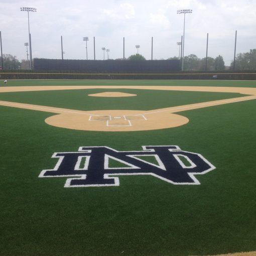 Infill Sand Artifical Turf Baseball Field