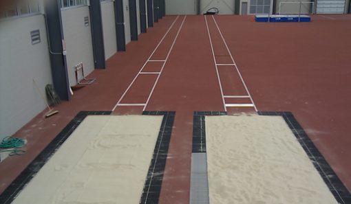 White Long Jump Sand