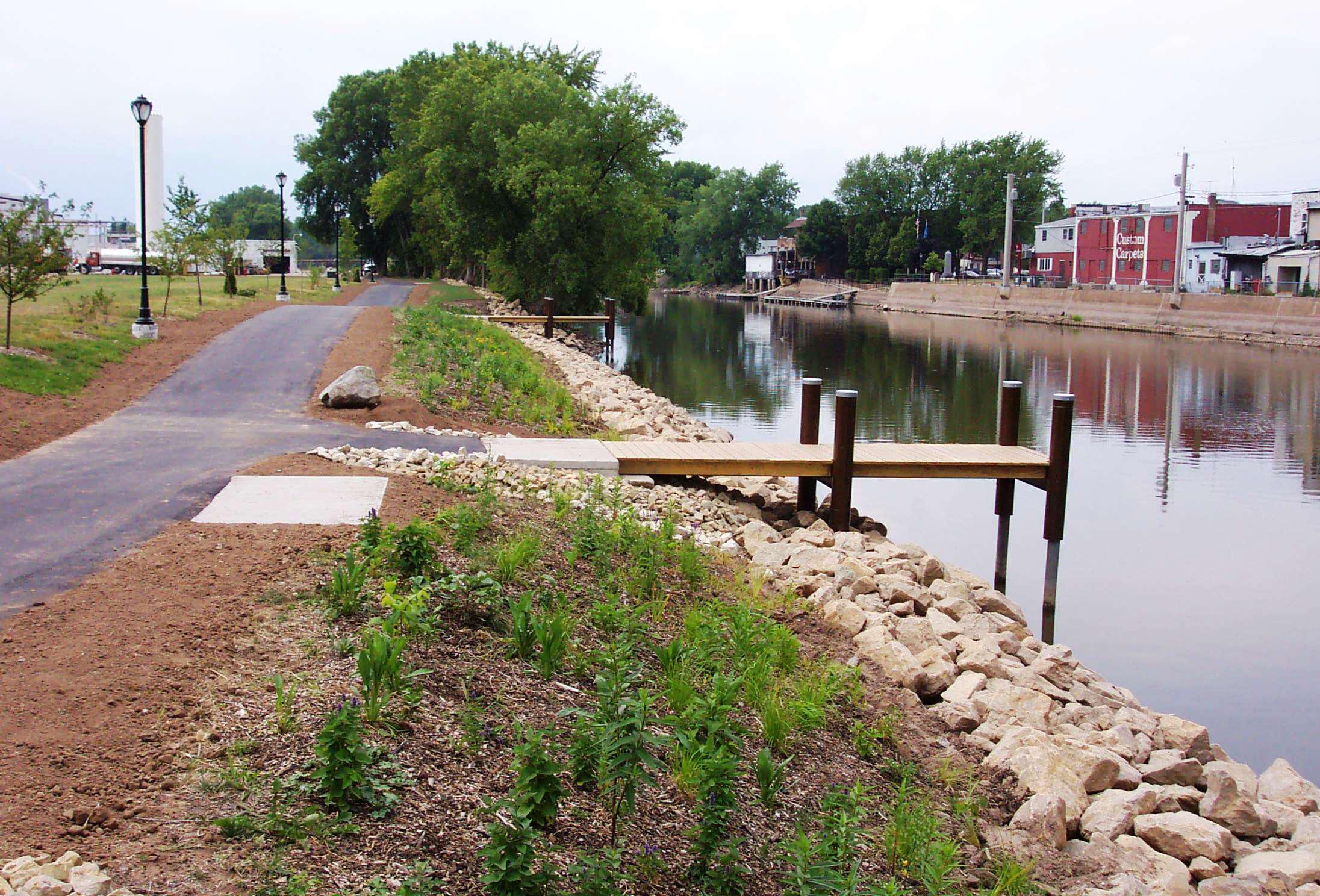 Riverbank Stabilization Rock