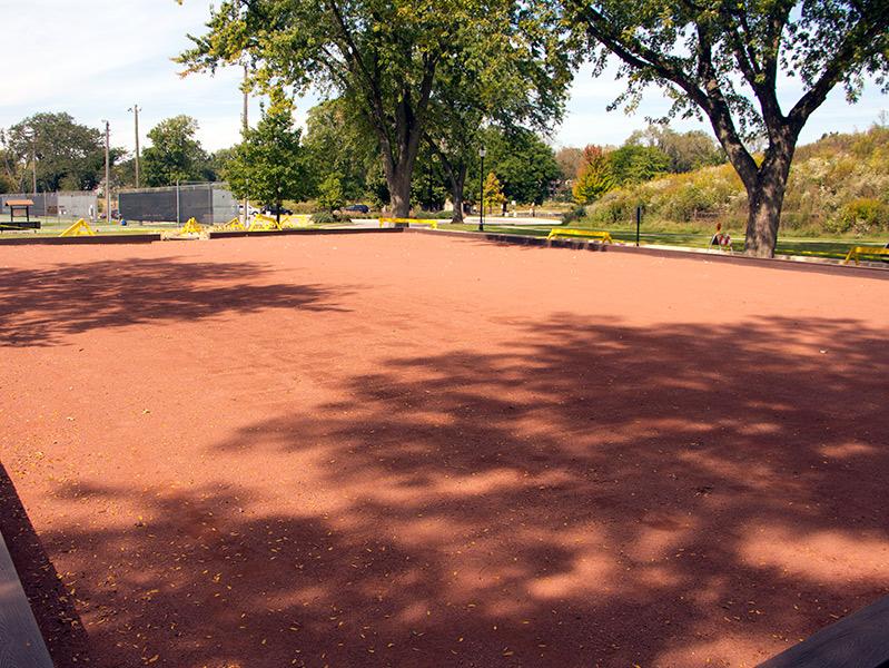 Bocce & Petanque Courts